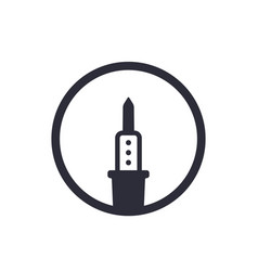 Soldering iron logo vector