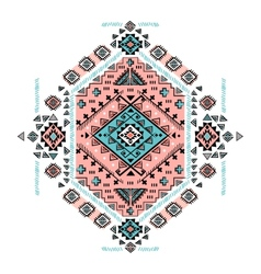 Beautiful Mexican Tribal isolated ornament vector image vector image