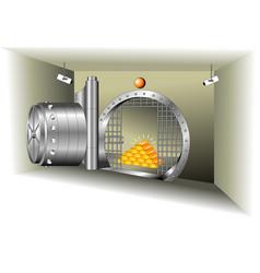 vault vector image