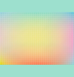 Abstract colorful background image blurred pixel vector