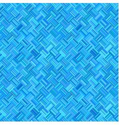 Blue abstract seamless diagonal stripe mosaic vector