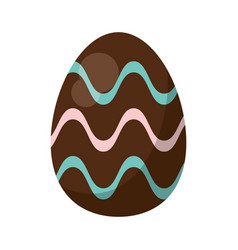 Easter egg ornament celebration vector