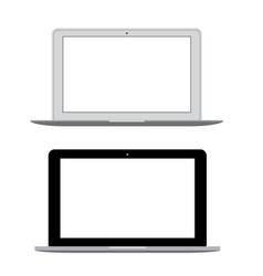 Modern laptop notebook vector