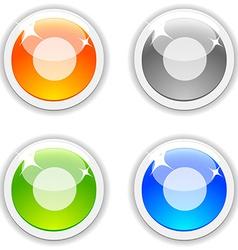 Rec buttons vector