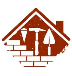 construction symbol vector image vector image
