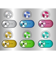 Switch set vector image