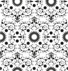 Baroque seamless geometric ornament vector image vector image