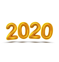 2020 new year celebrate concept banner vector image