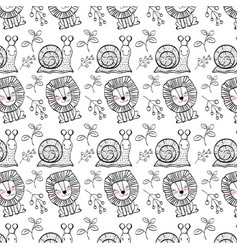 Animal pattern background vector