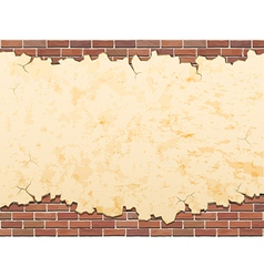 concrete and brick background vector image