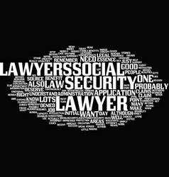 lawyers at work text background word cloud concept vector image