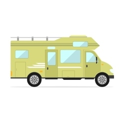 Mobile Home Car vector