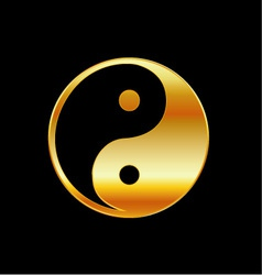 taoism daoism yin and yang vector image