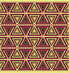 Tribal seamless patterns vector