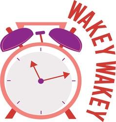Wakey Wakey vector