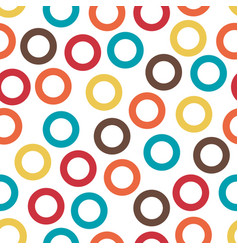 abstract seamless pattern with randomly colored vector image vector image