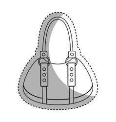 female bag isolated icon vector image