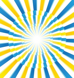 Blue and Yellow pattern vector image