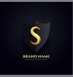 Elegant letter s logo royal concept design vector