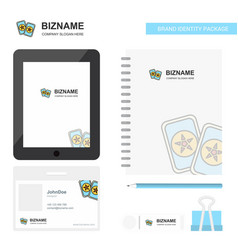 halloween cards business logo tab app diary pvc vector image