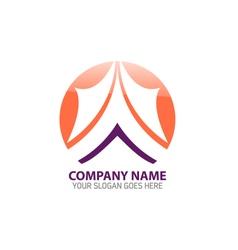 Mountain Peak Logo Icon Template vector