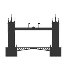 tower bridge icon United kingdom design vector image
