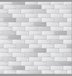 gray brick wall background vector image