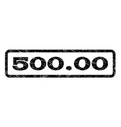 50000 watermark stamp vector image vector image