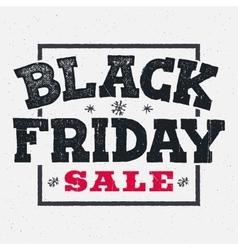 Black friday sale lettering on chalklboard vector image vector image