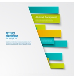 design Abstract lines brochure card vector image vector image