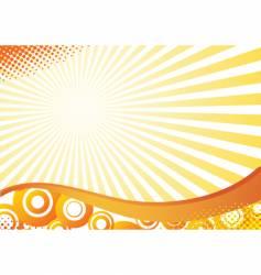 grunge halftone background vector image vector image