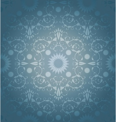 Baroque geometric background vector image
