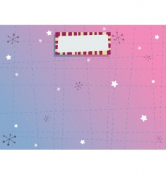 blue and pink background vector image