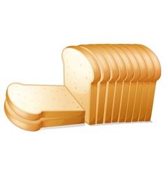 Bread slices vector