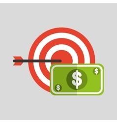 Business strategy technology dollar money vector
