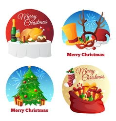 Christmas Party Collection vector