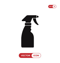 cleaning spray bottle icon vector image