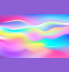 Colorful waved background vector
