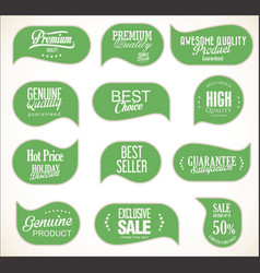 modern sale stickers collection 6 vector image