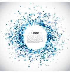 Modern Blue Background vector image vector image
