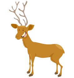 deer cartoon animal character vector image