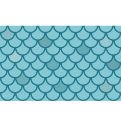 fish scales vector image