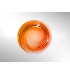 abstract circle red vector image