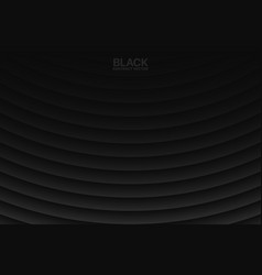 black abstract geometrical background vector image