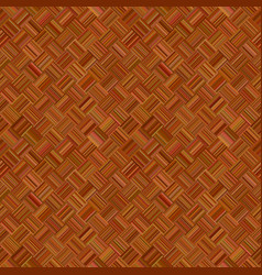 brown seamless abstract diagonal striped square vector image