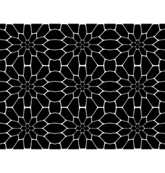 Design seamless monochrome polygon pattern vector image