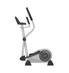 elliptical trainer vector image