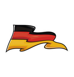 Germany flag logo design template vector