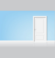 open the door to the light vector image
