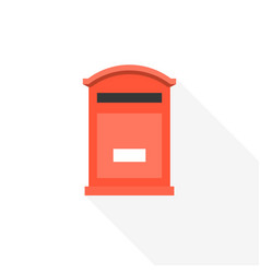 Post box icon vector